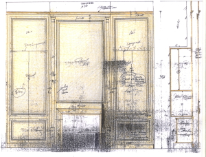 Sketch Paneling Lefèvre Interiors