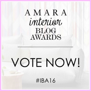 AMARA INTERIOR BLOG AWARDS VOTE NOW