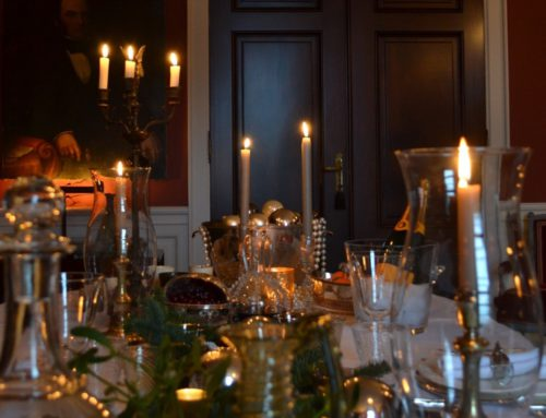 Christmas styling at home
