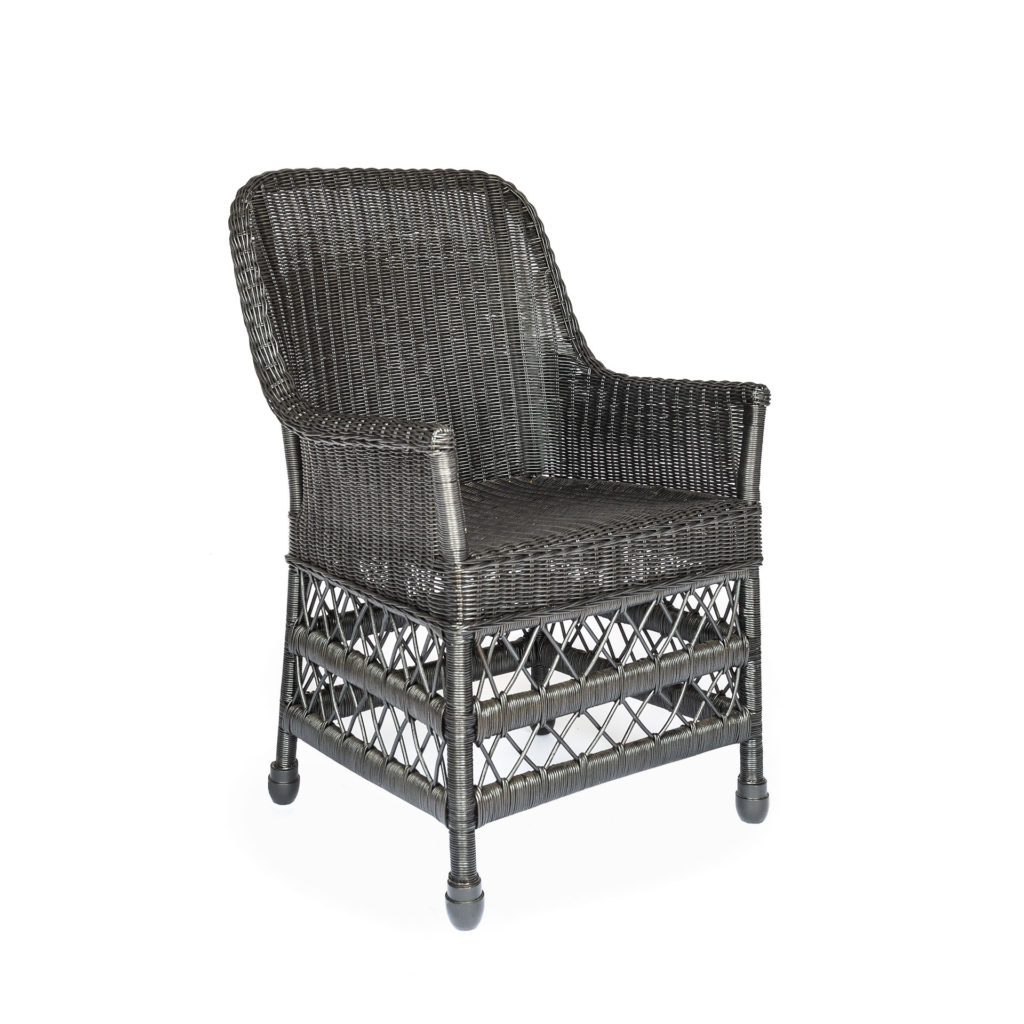 MIMI CHAIR CHARCOAL- Belgian Pearls Home Collection