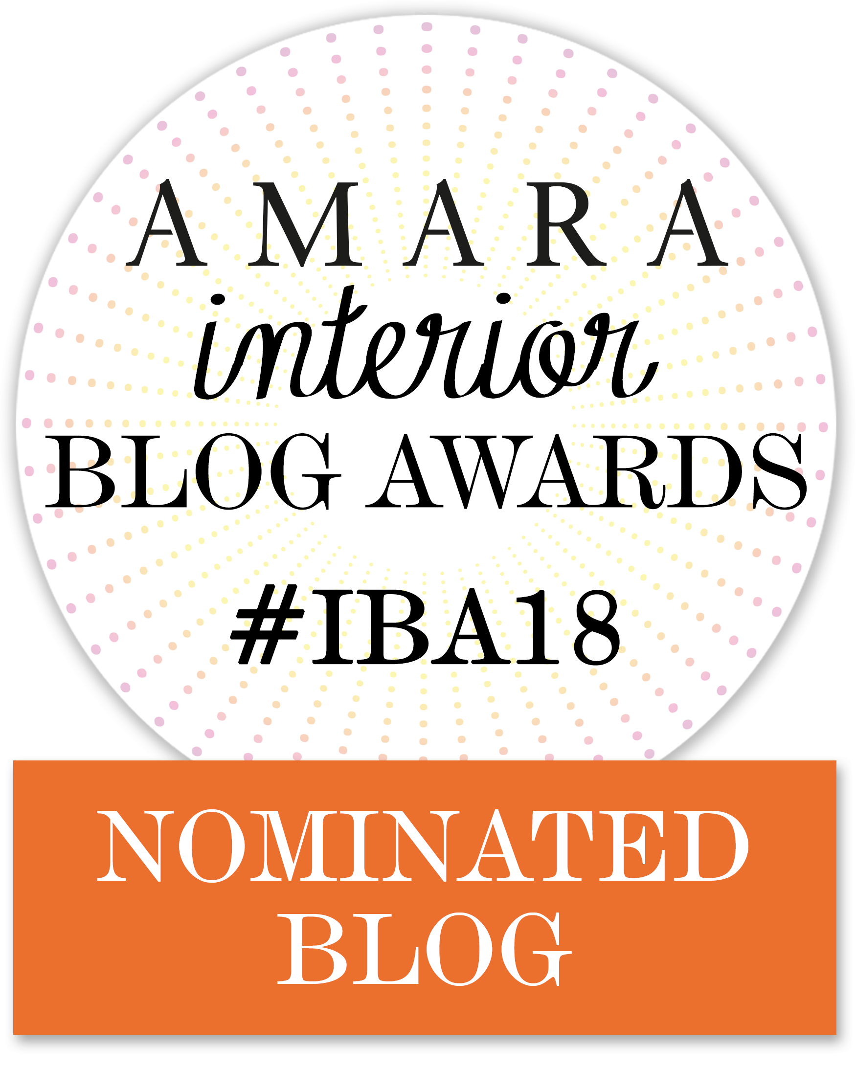 AMARA interior blog awards - 2018 - Nominated BLOG