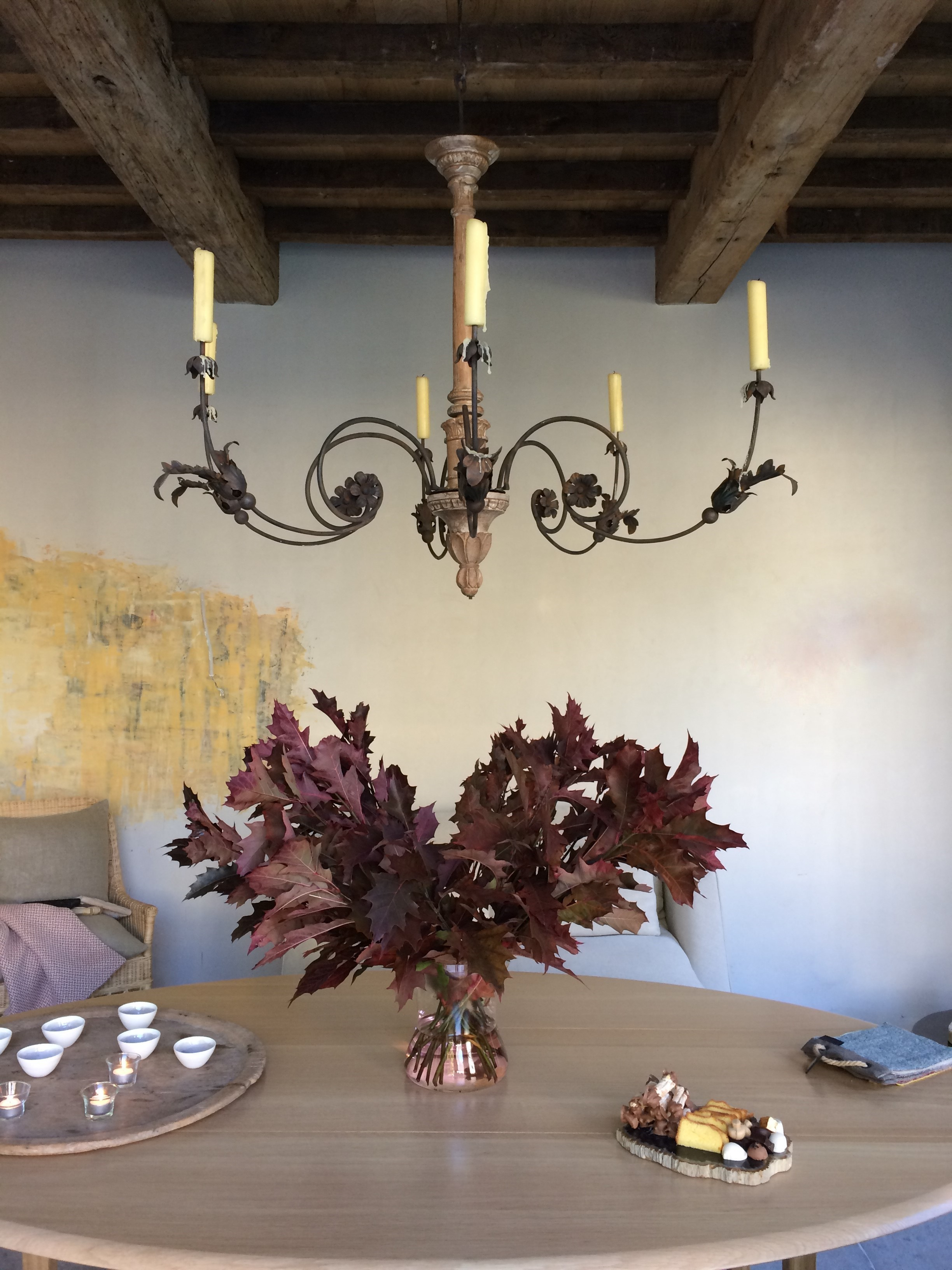 Decorating With Autumn Branches Belgian Pearls