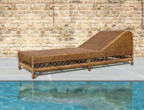 Newest addition to Belgian Pearls Home Collection, the August Daybed